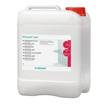 B. Braun Meliseptol® rapid Schnelldesinfektion 5 l - Kanister