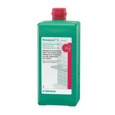 B. Braun Hexaquart S Flächendesinfektionsmittel 1000 ml - Flasche