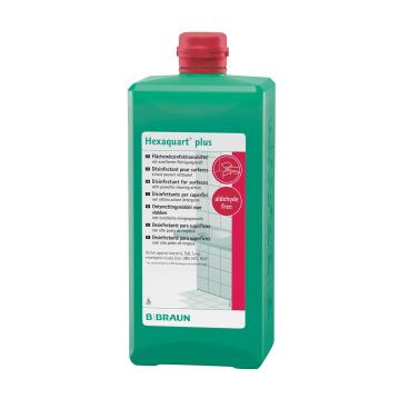 B. Braun Hexaquart plus Flächendesinfektionsmittel 1000 ml - Flasche