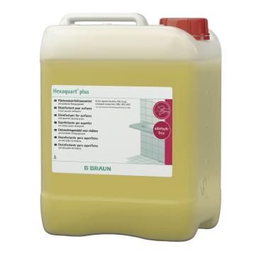 B. Braun Hexaquart plus Flächendesinfektionsmittel 5 l - Kanister