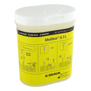 B. Braun Medibox® Kanülensammler erfüllt die TRBA 250