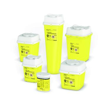 B. Braun Medibox® Kanülensammler erfüllt die TRBA 250 Fassungsvermögen: 0,7 l