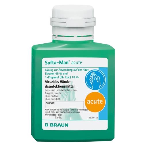 B. Braun Softa Man® acute Händedesinfektion