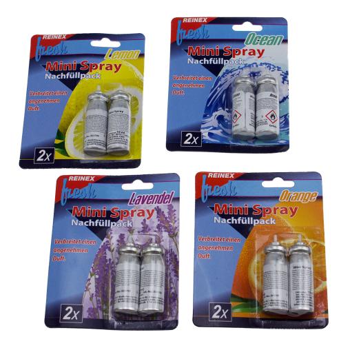 Reinex fresh Mini-Spray Nachfüller