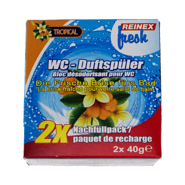 Reinex fresh WC-Duftsteine Tropical