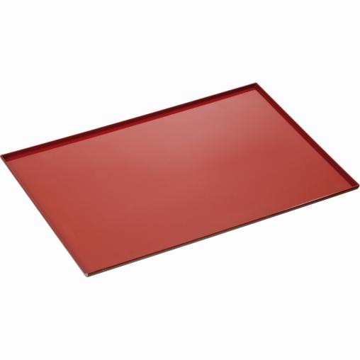 Bartscher Backblech, Aluminium, rot