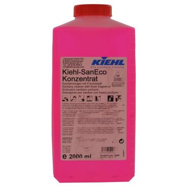 Kiehl SanEco-Konzentrat Sanitärreiniger 1 Karton = 3 x 2000 ml - Flasche