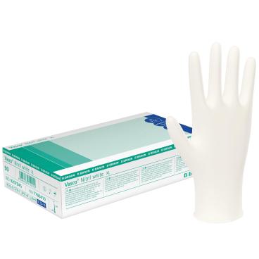 B. Braun Vasco® Nitril white Einmalhandschuhe