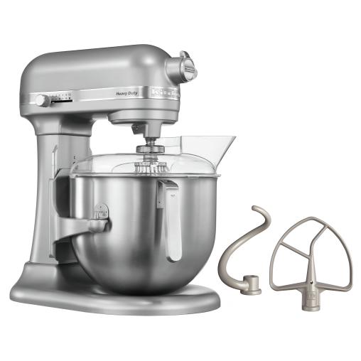 KitchenAid 5KSM7591X Küchenmaschine, silber, 6,9 Liter