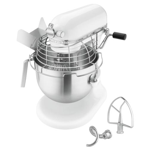 KitchenAid 5KSM7990XEWH Küchenmaschine, weiß, 6,9 Liter