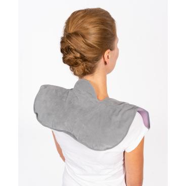 reer MommyLine Nacken- und Schulter-Wärmekissen Farbe: grau/ rosa