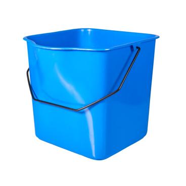 Sprintus Fahrwageneimer, 27 Liter Farbe: blau