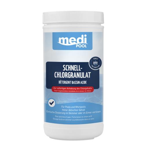 mediPOOL Schnell-Chlorgranulat