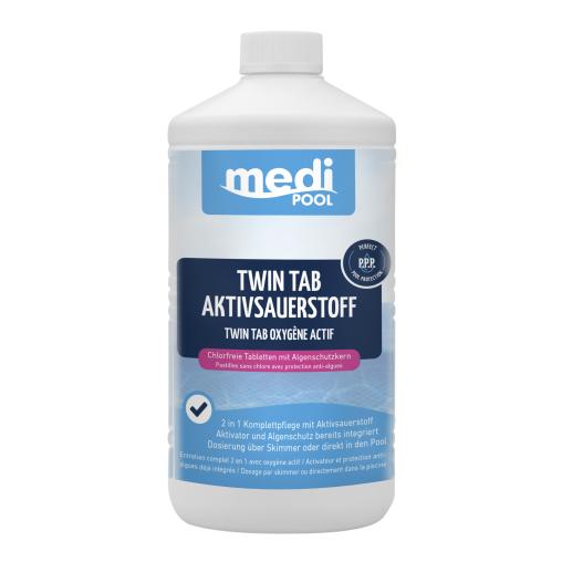 mediPOOL Twin Tab Aktivsauerstoff 200 g