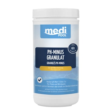mediPOOL pH-Minus Granulat