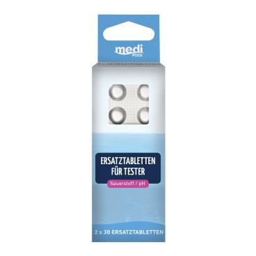 mediPOOL Tabletten für Sauerstoff / pH-Tester