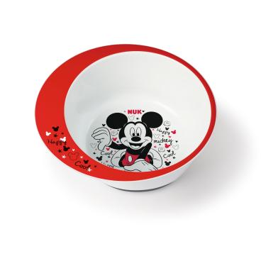 NUK  Disney Mickey Esslernschale 1 Packung = 1 Stück, Größe: 6+