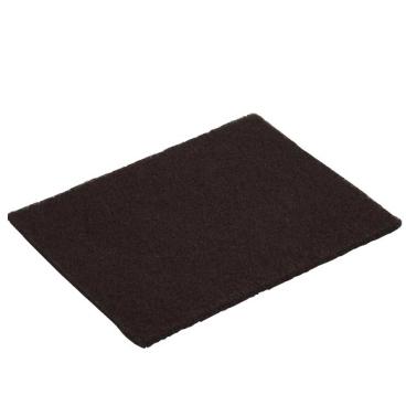Vileda Professional Handpads für Padhalter, 12 x 26 cm 1 Packung = 10 Stück, Dicke: 12,5 mm, Strong, schwarz