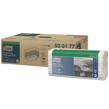 Tork Premium Reinigungstücher 530 - Einzeltücher 1 Packung = 5 Beutel x 60 Tücher = 300 Tücher