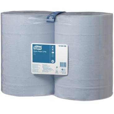 Tork Universal Wischtuch 320 blau 1 Paket = 2 Rollen á 340 m = 2.000 Tücher