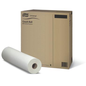 Tork Universal Liegenabdeckung, Tissue, 1-lagig