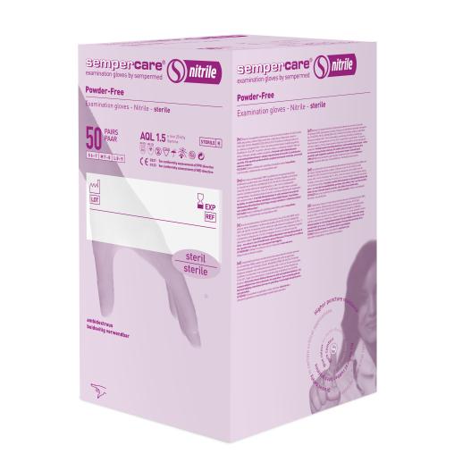 Sempercare® nitrile steril Untersuchungshandschuh