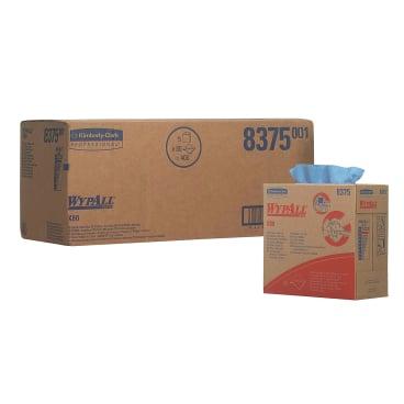 WYPALL* X80 Wischtücher - Zupfbox 1 Karton = 5 Boxen á 80 Tücher