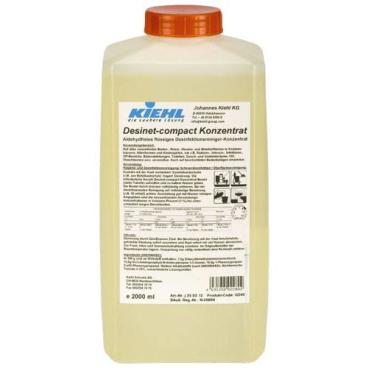 Kiehl Desinet-compact Konzentrat 2000 ml - Flasche (1 Karton = 3 Flaschen)