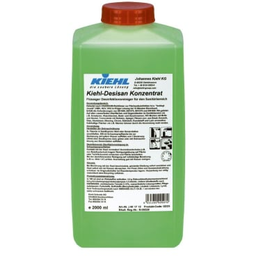 Kiehl-Desisan Konzentrat Desinfektionsreiniger 2000 ml - Flasche (1 Karton = 3 Flaschen)