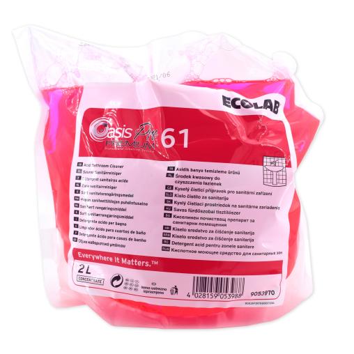 ECOLAB Oasis Pro 61 Premium Sanitärreiniger