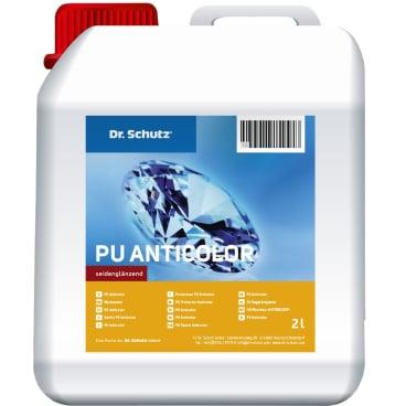 Dr. Schutz® PU-Anticolor Beschichtung 1 Karton = 2 x 2 l Kanister + 2 x 500 ml Vernetzer