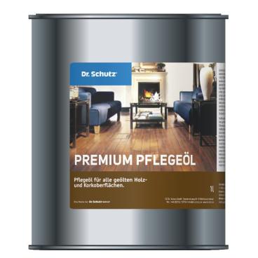 Dr. Schutz® Premium Pflegeöl 1000 ml - Dose (1 Karton = 4 Dosen)
