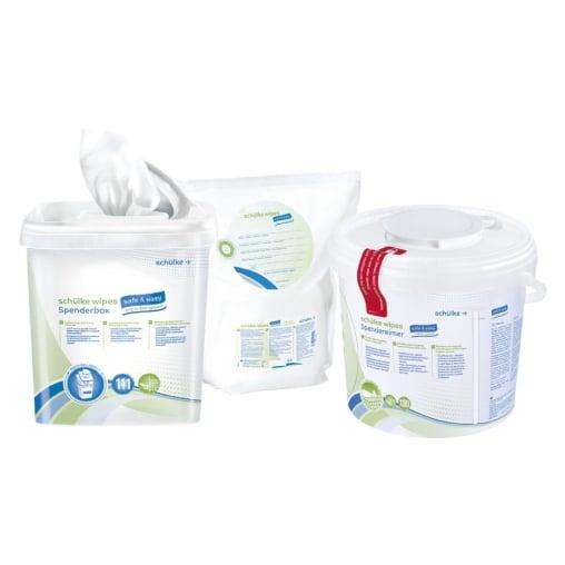 Schülke wipes safe&easy Desinfektionstücher