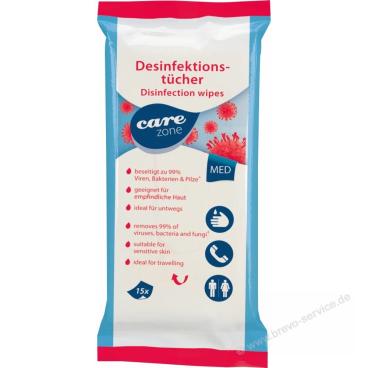 Dr. Schumacher Care Zone Desinfektionstücher