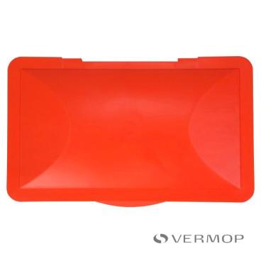 VERMOP Deckel Halterahmen: 120 l, rot