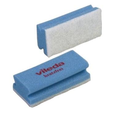 Vileda Professional Padschwamm Non-Scratch 1 Packung = 10 Stück, blau