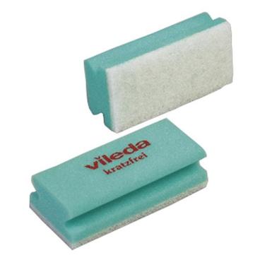 Vileda Professional Padschwamm Non-Scratch 1 Packung = 10 Stück, grün