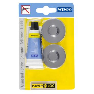 WENKO Premium/Classic/Style Power-Loc Adapter  Klebesystem