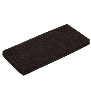 Vileda Professional Handpad Super, 12 x 26 cm 1 Packung = 5 Stück, schwarz, für die Grundreinigung