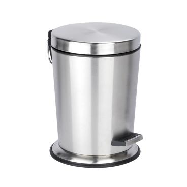 WENKO Easy Close Treteimer, 5 Liter