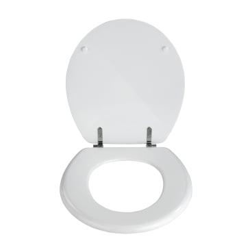 WENKO Prima WC-Sitz, weiß WC-Sitz, Farbe: weiß