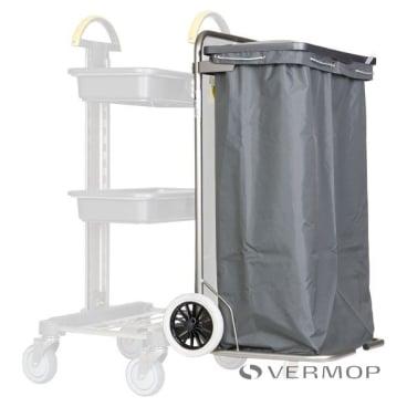 VERMOP Huckepack mit Halterahmen 1 x 120 l Material: Edelstahl