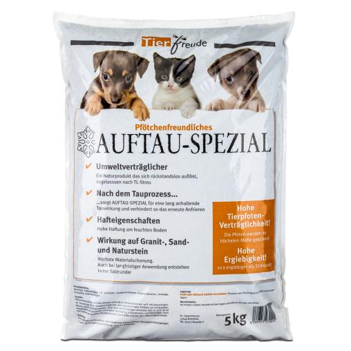 Tierfreude Auftau Spezial Streumittel