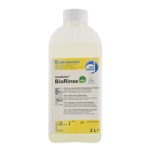 Dr. Weigert neodisher® BioRinse Klarspüler