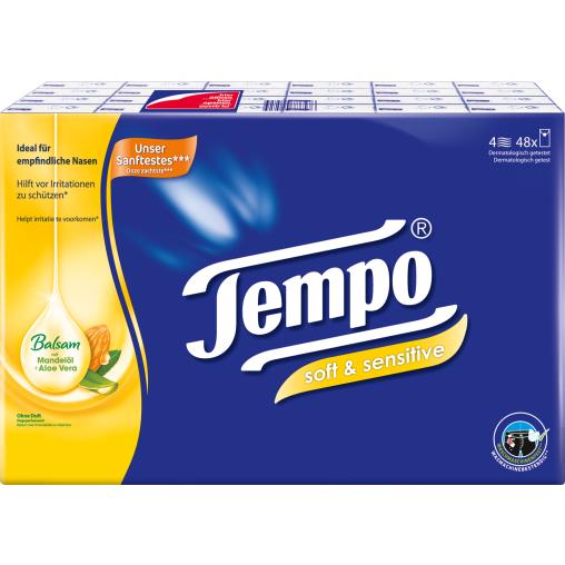 Tempo Plus Papiertaschentücher