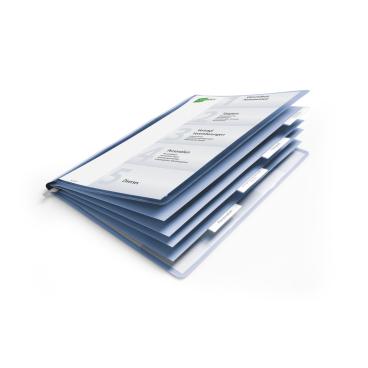 DURABLE Personalhefter, SB-Verpackung , blau