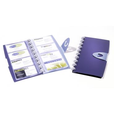DURABLE Duralook® Visifix Walk Visitenkartenbuch