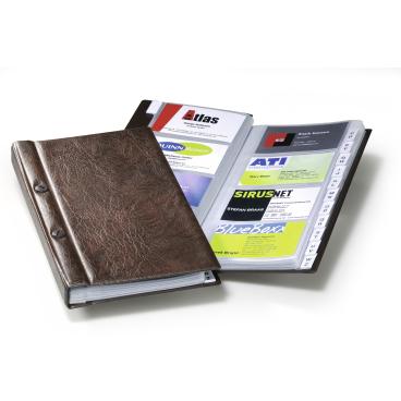 DURABLE Visifix® Visitenkartenalbum für 200 Visitenkarten