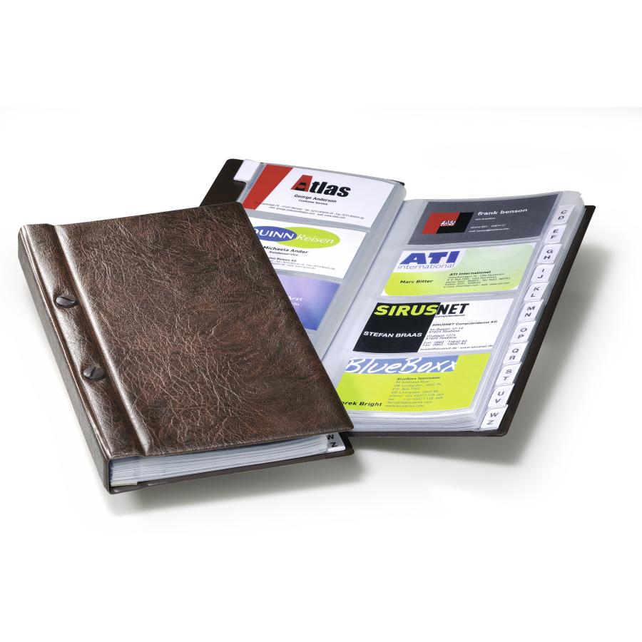 Durable Visifix Visitenkartenalbum Für 200 Visitenkarten