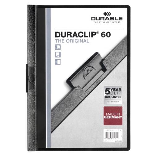 DURABLE Duraclip® Klemmhefter für 1-60 Blatt, DIN A4